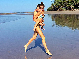 Gisele Bündchen Shows Off Results of Her Plant Based Diet During Beach Date with Son Ben