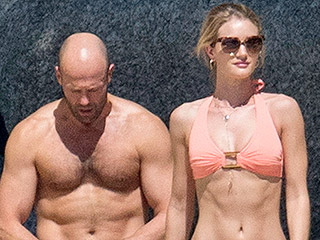 Hot Couple Alert! Rosie Huntington-Whiteley and Jason Statham Show Off Their Beach Bodies in Thailand