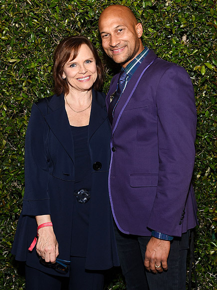 Cynthia blaise and keegan michael key