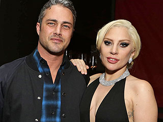 Lady Gaga Supports Fiancé Taylor Kinney at Screening of His New Movie: They Looked 'Super Happy Together,' Says Source