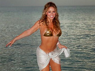 Mariah Carey Wows Showing Off Her Toned Bikini Body on Vacation