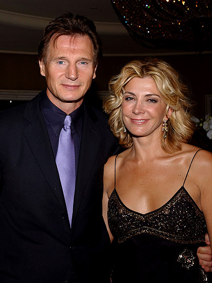 Liam Neeson Opens Up About His Wedding Song With Natasha Richardson