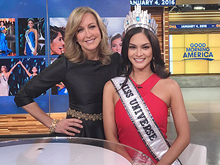 Miss Universe Nixes Idea of Sharing Her Crown with Miss Colombia and Says Steve Harvey Should Be Pageant Host Next Year