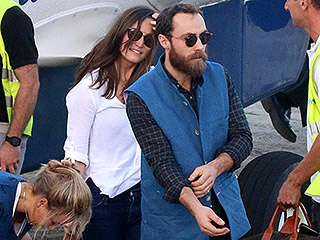 Let the Vacation Begin! Pippa and James Middleton Arrive in St. Barts Just in Time for New Year's Eve