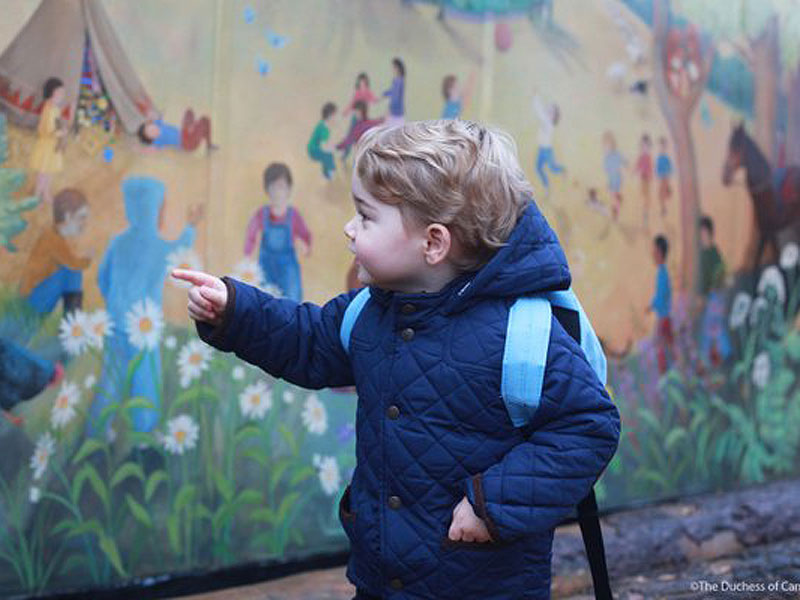 His Royal Cuteness! Prince George Starts Preschool – See the Adorable Photos!| The British Royals, The Royals, Prince George