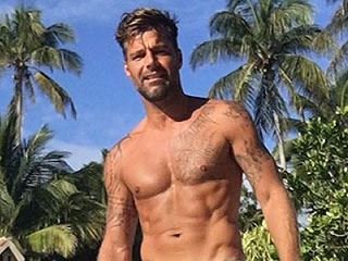 Hola Ricky Martin! Singer Leaves Little to the Imagination in Sexy Speedo Snap