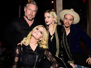 Double Date Night! Jessica Simpson and Ashlee Simpson Rock Out at a Private Party with Their Husbands