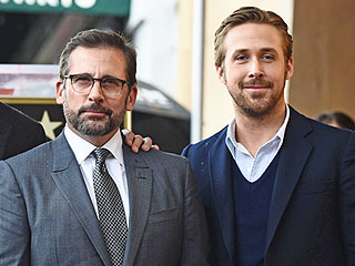 Steve Carell Receives a Star on the Hollywood Walk of Fame – with Ryan Gosling in Tow