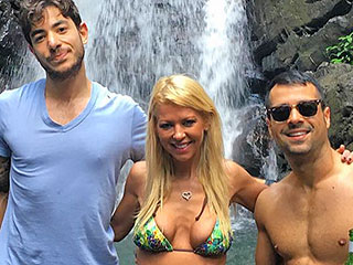 What Winter Chill? Tara Reid Poses in a Bikini During Waterfall Visit While on Vacation in Puerto Rico
