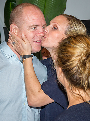Royal PDA! Zara Tindall and Husband Mike Share a Sweet Kiss in Australia