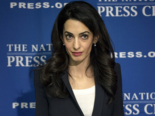 Amal Clooney Meets with John McCain and Lawmakers in D.C., Lands First U.S. TV Interview