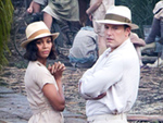 Ben Affleck and Zoë Saldana are Prohibition Era Chic Filming Live by Night