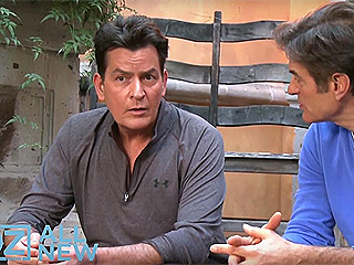 Charlie Sheen Will Appear on Dr. Oz Again to Talk About What He's Learning About HIV, His Manager Says