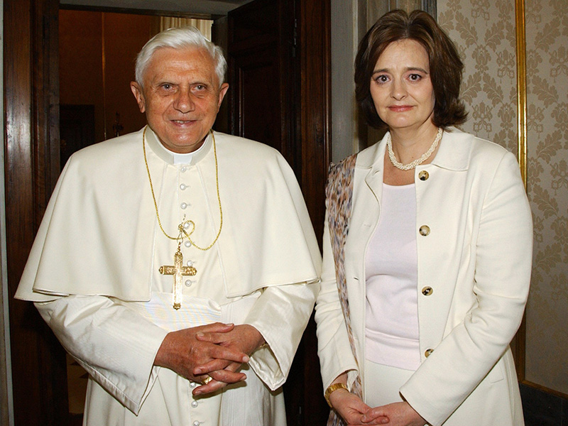 The Surprising Reason Princess Charlene – and Very Few Others – Are Allowed to Wear White to Meet the Pope  The Royals, Charlene Wittstock, Pope Francis, Prince Albert