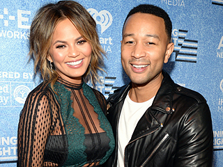 John Legend and Chrissy Teigen Show Sweet PDA on Night Out: He 'Kept Rubbing' Model's Baby Bump, Says Onlooker