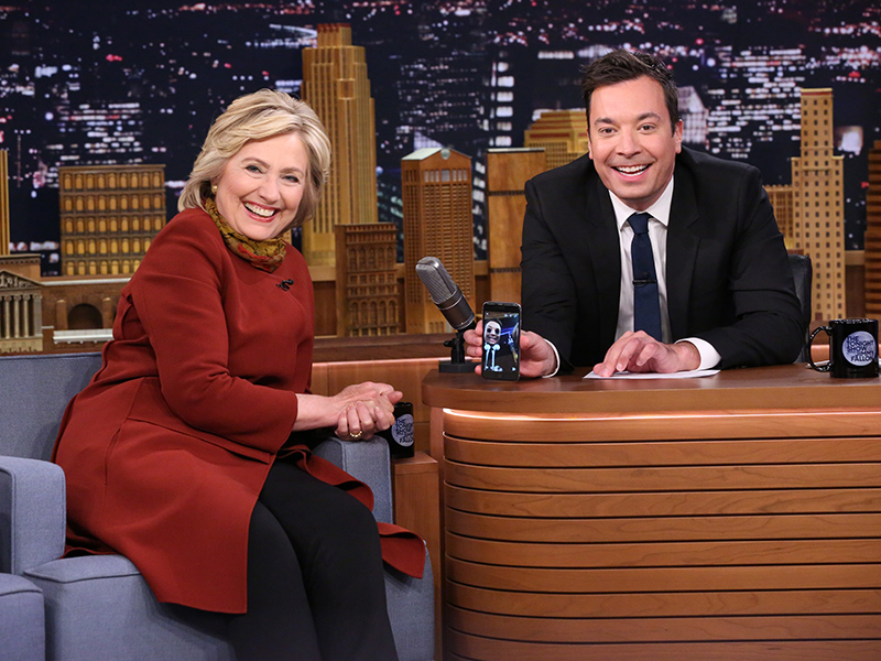 Hillary Clinton Says She Isn't Intimidated By Donald Trump and Reveals She Finds iPhone Auto-Correct Annoying Like The Rest of Us| 2016 Presidential Elections, The Tonight Show, Individual Class, Donald Trump, Hillary Rodham Clinton