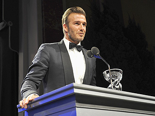 'I Am Humbled': David Beckham Receives Humanitarian Award at Star-Studded UNICEF Ball