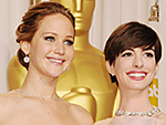 Anne Hathaway Defends Jennifer Lawrence After Joy Star's Golden Globes Exchange with Reporter