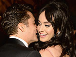 Katy Perry Gets Close with Orlando Bloom at Golden Globes Afterparty