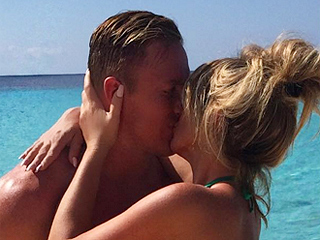 Kim Zolciak and Husband Kroy Biermann Get Handsy on Beach Vacation