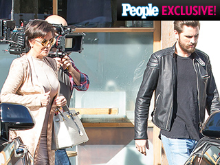 Kris Jenner and Scott Disick Film Keeping Up with the Kardashians After Emotional Sit-Down