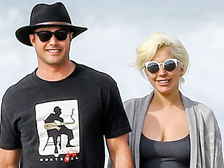 Lady Gaga Soaks Up Sun – and Golden Globes Love! – on a Romantic Stroll with Fiancé Taylor Kinney