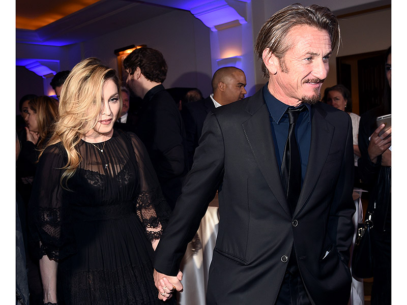 Madonna Tells Sean Penn, 'I Love You' as They Arrive Together, Hold Hands at His Charity Gala| Madonna, Sean Penn