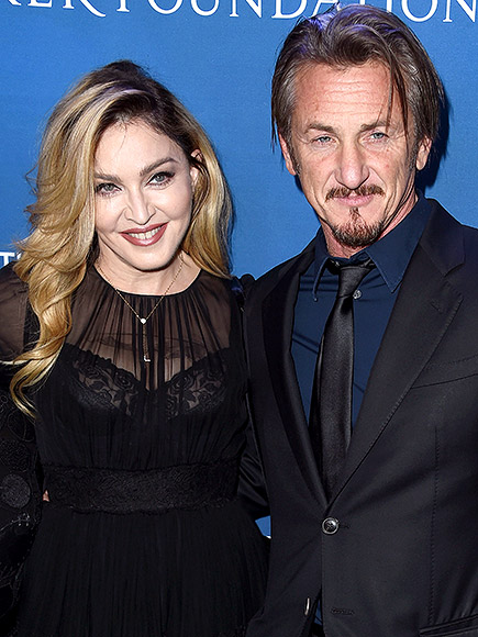 Madonna and Sean Penn Hold Hands at Haiti Charity Gala