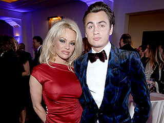 Not a Little Boy Anymore: Pamela Anderson Brings 19-Year-Old Son Brandon Lee to Help Haiti Home Gala