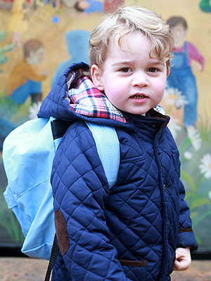 King of the Classroom! Prince George Is Adjusting 'Very Well' to Nursery School