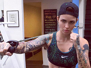 Ruby Rose Shows Off Her Abs in Fierce Gym Photos as She Preps for New Movie Roles