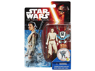 FROM EW: Where's Rey? She's in the Second Wave of Star Wars: The Force Awakens Toys