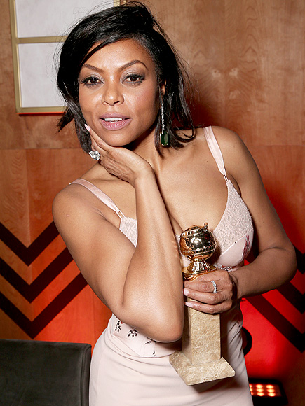 Taraji P. Henson Puts Homophobic Empire Haters in Their Place: 'I'll Send You Cookies'| Golden Globe Awards 2016, Golden Globes, Golden Globe Awards 2016, Empire, TV News, Taraji P. Henson
