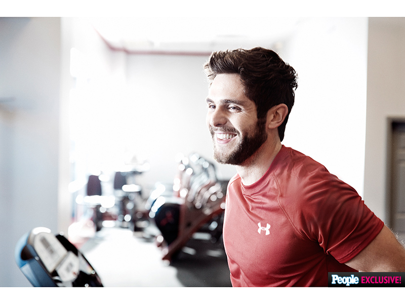 Thomas Rhett Hosts Boot Camp Sessions with Snap Fitness