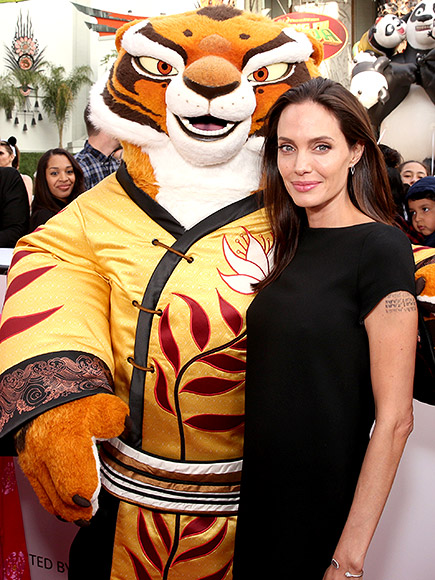 Angelina Jolie Brings Her Kids to the Kung Fu Panda 3 Premiere| Kung Fu Panda, Movie News, Angelina Jolie, Jack Black, Kate Hudson, Ryder Robinson