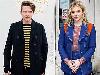 Chloë Grace Moretz and Brooklyn Beckham Hang Out Together in London