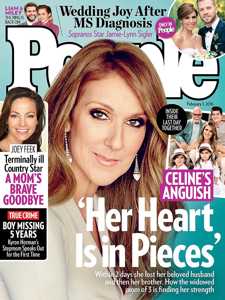 Céline Dion Clings to Her Son as She Leaves Open-Casket Visitation for Husband René Angélil| Death, Celine Dion, Rene Angelil