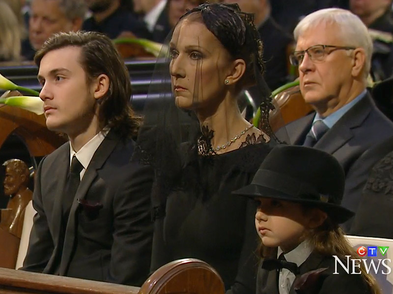 Céline Dion's Son René-Charles Gives Heart-wrenching Eulogy at Dad René Angélil's Funeral: I'll Share 'Memories of You' with My Younger Brothers| Tributes, Celine Dion, Rene Angelil