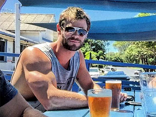 Chris Hemsworth Now Gets Teased by Brother Luke As He Shows Off Huge Bicep In Instagram Snap