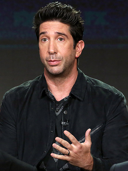 David Schwimmer On Talking With the Kardashian Kids for 'American Crime Story'