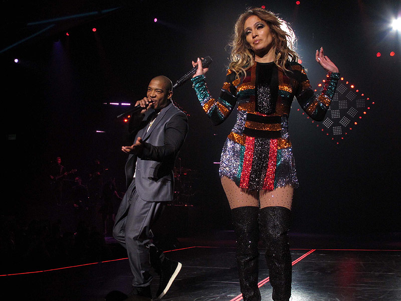 The Ultimate Jennifer Lopez Experience: J-Lo Kicks Off Her Las Vegas Residency with Fabulous (and Sparkly) Show  Las Vegas, Music, People Scoop, Music News, Scoop Ad Tag, Casper Smart, Jennifer Lopez