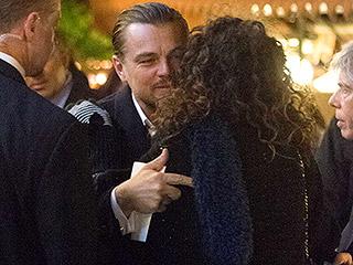 Leonardo DiCaprio Kisses Lucky Female Fan in Rome, Giving Hope to Women Everywhere