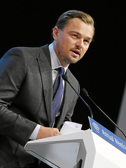 Leonardo DiCaprio Urges the Elimination of Fossil Fuels in Climate Change Fight