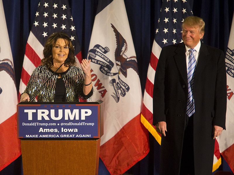 Sarah Palin 'Stirs It Up' with Endorsement for Donald Trump: GOP Establishment 'Must Be Savaged'| 2016 Presidential Elections, politics, People Scoop, Scoop Ad Tag, Bristol Palin, Donald Trump, Sarah Palin