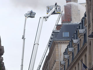 VIDEO: Fire Burns World-Famous Paris Ritz Hotel Where Princess Diana Had Her Last Meal