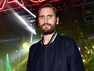 Scott Disick Sips Red Bull at Pre-Super Bowl Bash in Las Vegas After Partying with Tyga