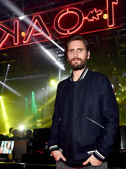 Scott Disick Partying in Las Vegas January 2016