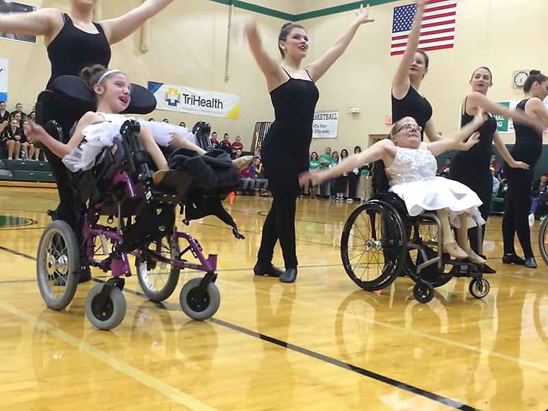 Girls in Wheelchairs Perform Dance Tribute to Friend Who Died Unexpectedly