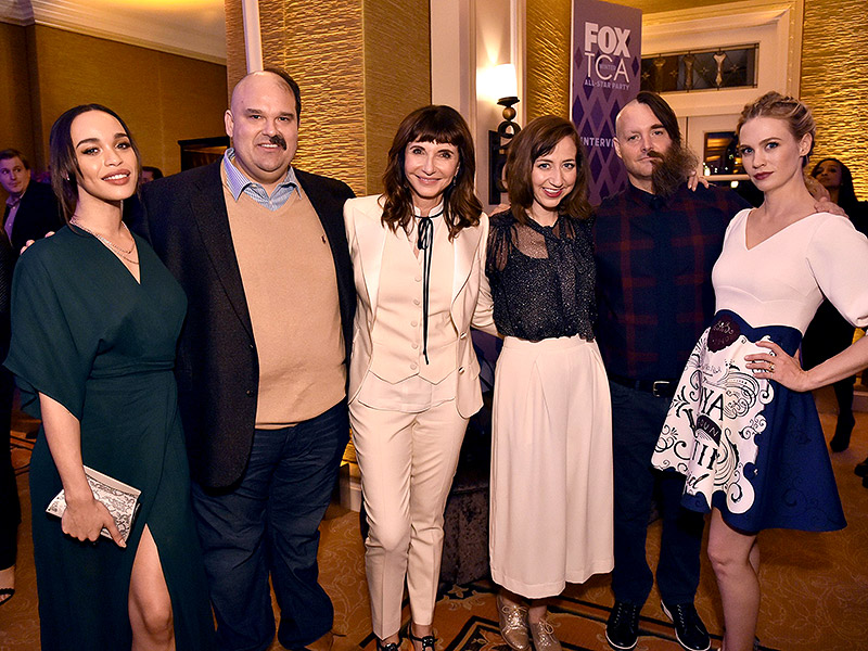 Will Forte Debuts Half-Shaved Face at FOX All-Star Party and It Is Seriously Insane| Grease Live!, TV News, Will Forte