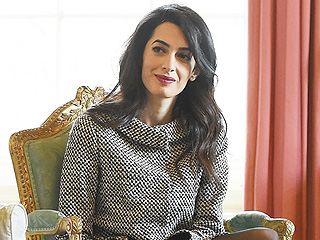 """Amal Clooney Holds Press Conference with Freed Maldives President: 'Our Work Does Not Stop Here"""""""